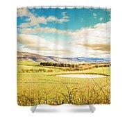 Fields Of Plenty Shower Curtain