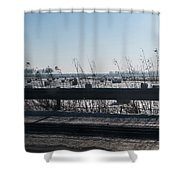 Fields Of Snow Shower Curtain