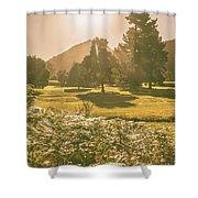 Fields Of Springtime Shower Curtain