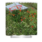 Fields Of The Dead Shower Curtain