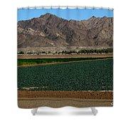 Fields Of Yuma Shower Curtain