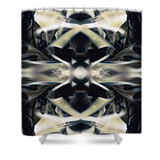 Fierce Flake 2805 Shower Curtain