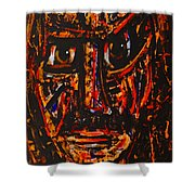 Fierce Warrior Shower Curtain