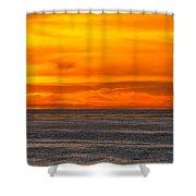 Lava Sky Shower Curtain