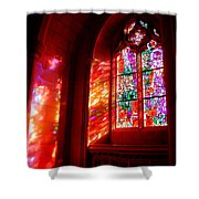 Fiery Light 2 Shower Curtain