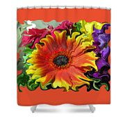Floral Fiesta Shower Curtain