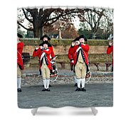 Fifes And Drums Shower Curtain