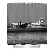 Fifi B-29 Shower Curtain