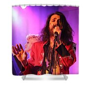 Fifth Annual David Bowie Birthday Bash Shower Curtain