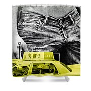 Fifth Avenue- Ny Shower Curtain