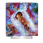 Fifth Bardo Shower Curtain