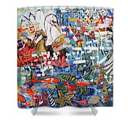 Fifth Day Of Creation 201764 Shower Curtain