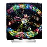 Fifth Day Of Creation Shower Curtain