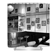 Fifties Diner Shower Curtain