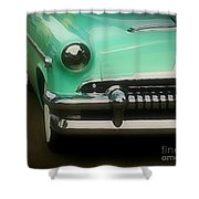 Fifties Ride Shower Curtain