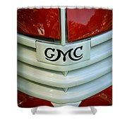 Gmc Grill Shower Curtain