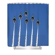 Fighter Attack Shower Curtain