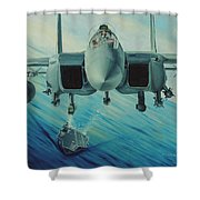 Fighter Jet Shower Curtain