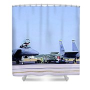 Fighters Shower Curtain