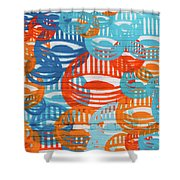 Fights Of Delight Shower Curtain