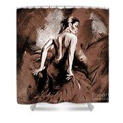 Figurative Art 007b Shower Curtain
