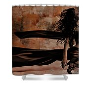Figurative Art 095a Shower Curtain