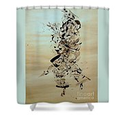 Figure And Costume Shower Curtain