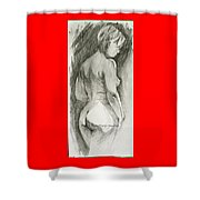 Figure Drawing.2. Shower Curtain