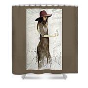 Figure Sketch.5. Shower Curtain