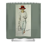 Figure Sketch.6. Shower Curtain