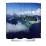 Fiji Aerial Shower Curtain