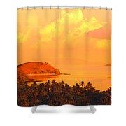 Fiji Mana Island Shower Curtain