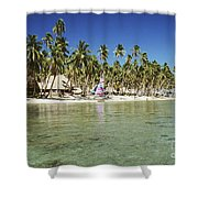 Fiji Resort Shower Curtain
