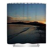 Fiji Sunset Shower Curtain