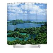 Fiji Vanua Balavu Shower Curtain