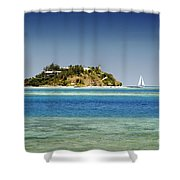 Fiji, Wadigi Isle Shower Curtain