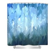 Filed Of Lilies Shower Curtain