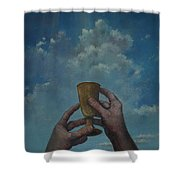 Fill My Cup Lord Shower Curtain