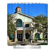Fillmore City Hall Shower Curtain