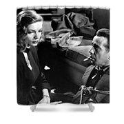 Film Noir Publicity Photo #2 Bogart And Bacall The Big Sleep 1945-46 Shower Curtain