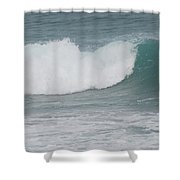 Fin Wave Shower Curtain