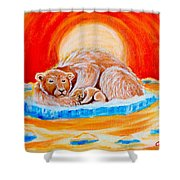 Final Days Shower Curtain