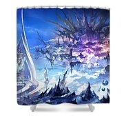Final Fantasy Xiv A Realm Reborn Shower Curtain