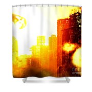 Final Strike Shower Curtain