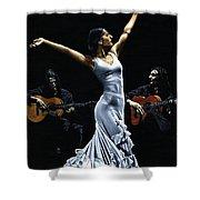 Finale Del Funcionamiento Del Flamenco Shower Curtain by Richard Young