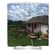 Finales Valley Home Shower Curtain