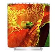 Find Your Happy Place Shower Curtain