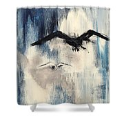 Find Your Peace. Shower Curtain