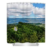 Find Your Road Shower Curtain