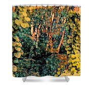 Finding Enchantment Shower Curtain